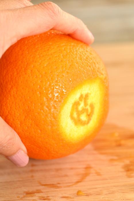 jack o lantern orange cup