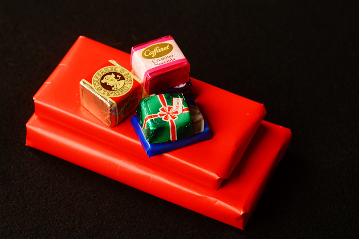 candy sleigh favors