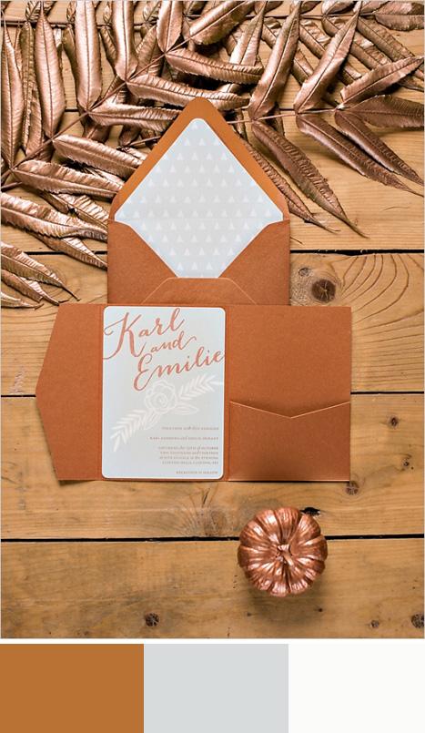Copper color board