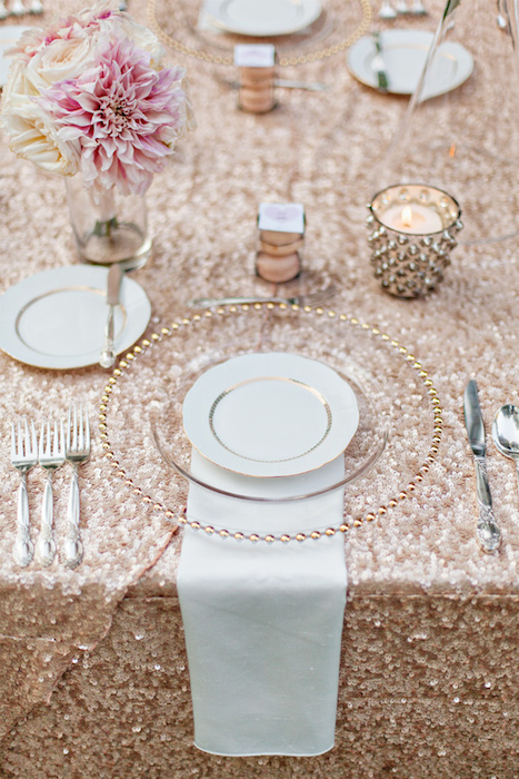 Fall Wedding Tableware