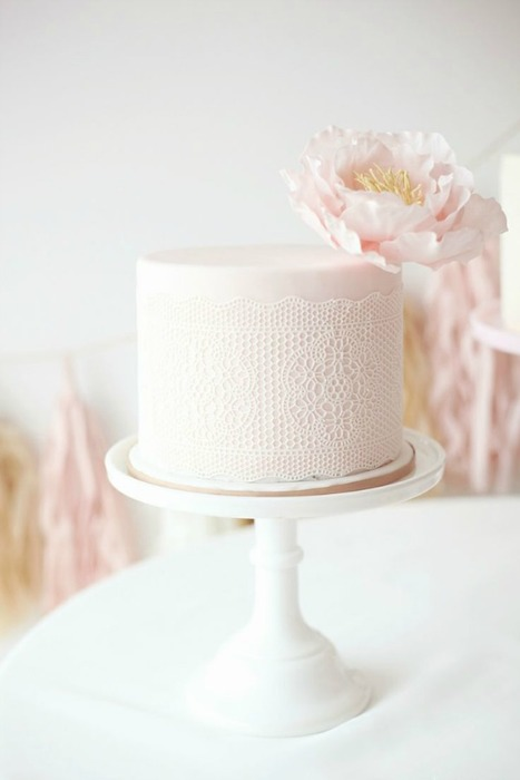 10 Stunning Single Layer Cakes