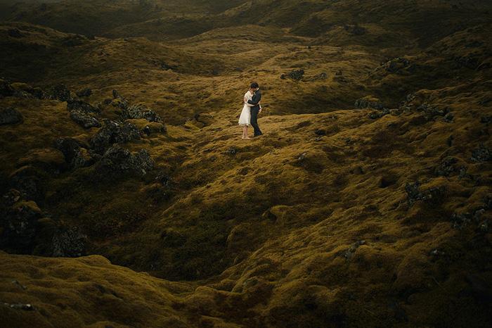 Phong cách chụp ảnh cưới giữa thiên nhiên hùng vĩ
