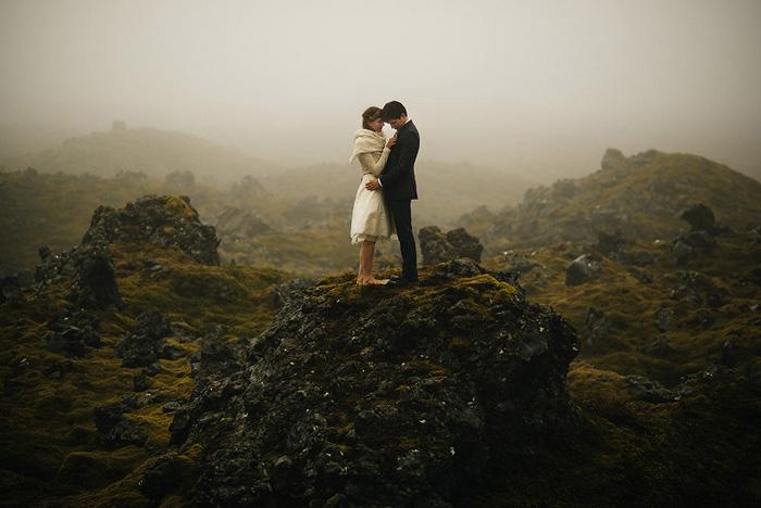 Ảnh cưới ma mị của cặp đôi Jamie và Pia