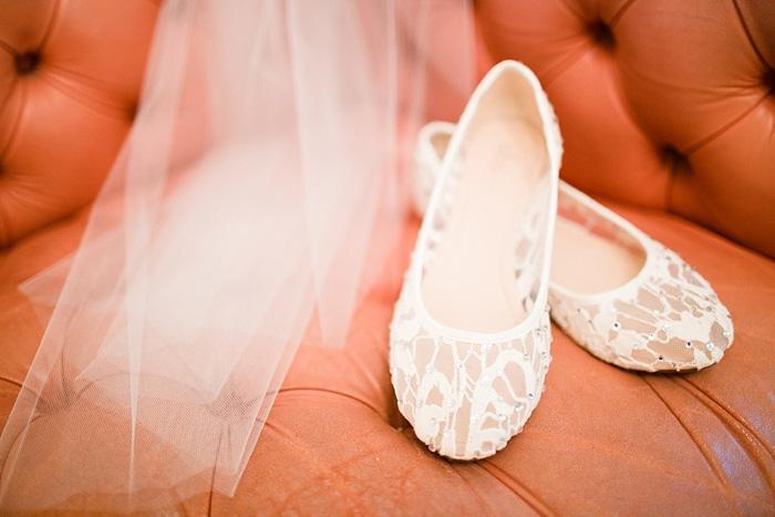 white lace wedding flats
