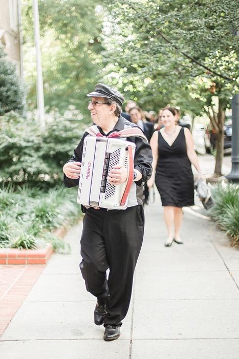 musical wedding procession