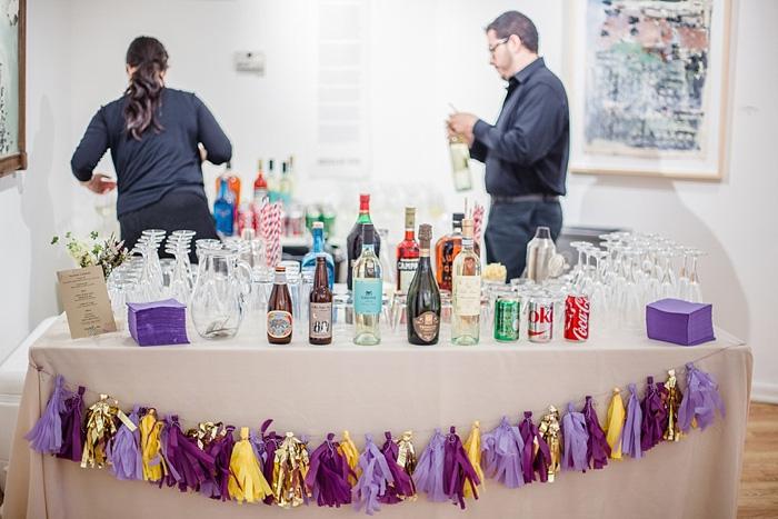 wedding bar set-up
