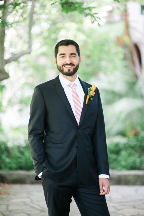 groom portrait