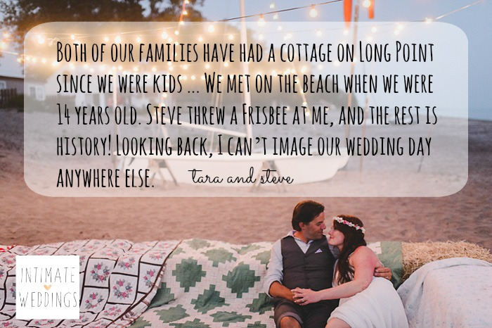 long point beach wedding