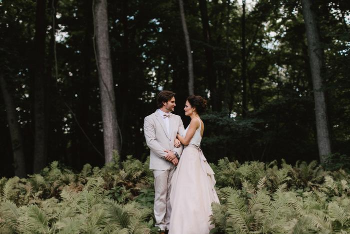 Michigan at home wedding