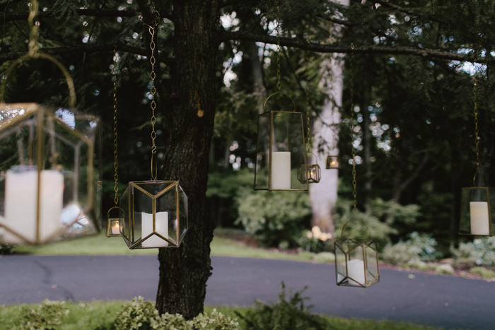 hanging candle lanterns