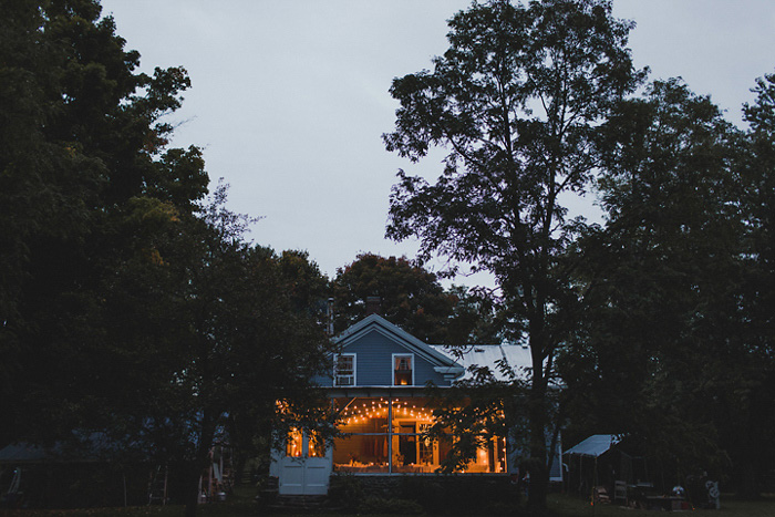 house fro wedding reception