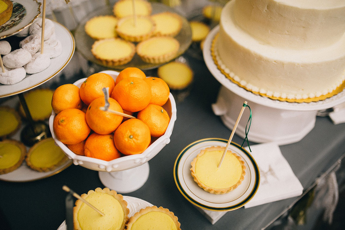 wedding lemon tarts
