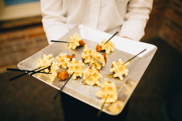 chicken and waffles appetizers