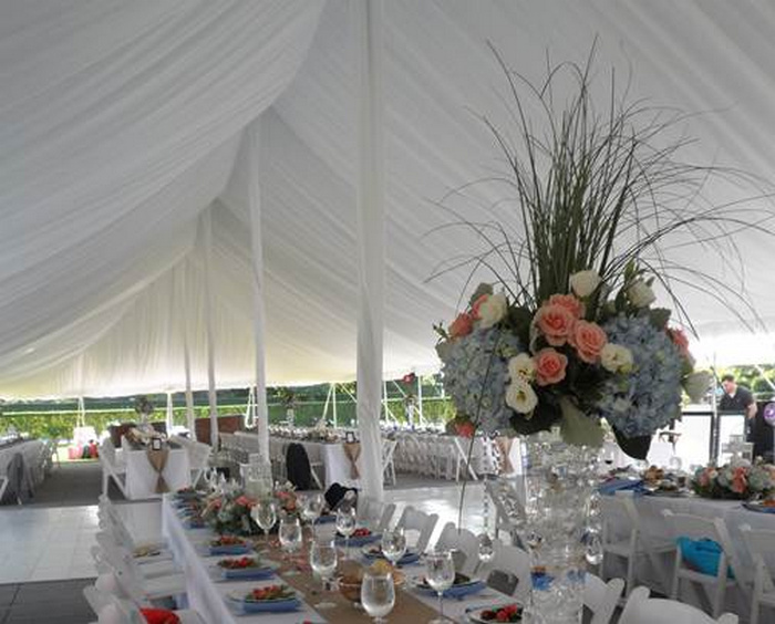 Tent Decor Brecknock Hall Ny