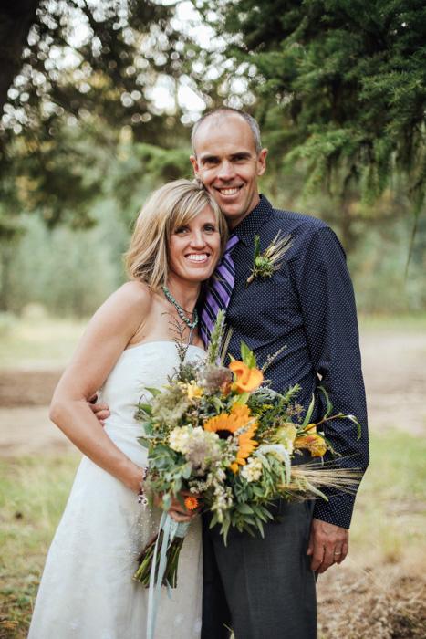 Đám cưới trên núi Idaho