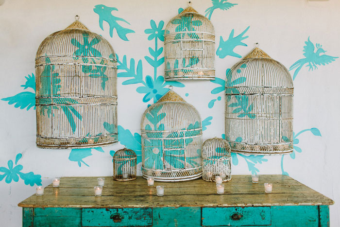 brid cage wedding decor
