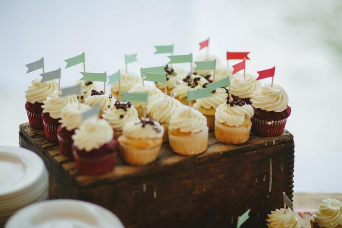 wedding cipcakes