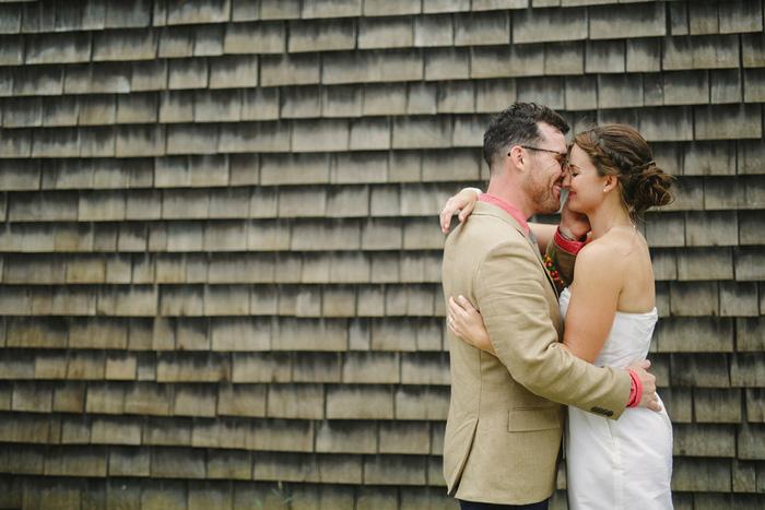 bride and groom portrait in Mystic