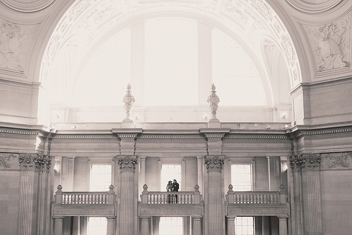 Couple in San Francisco City Hall