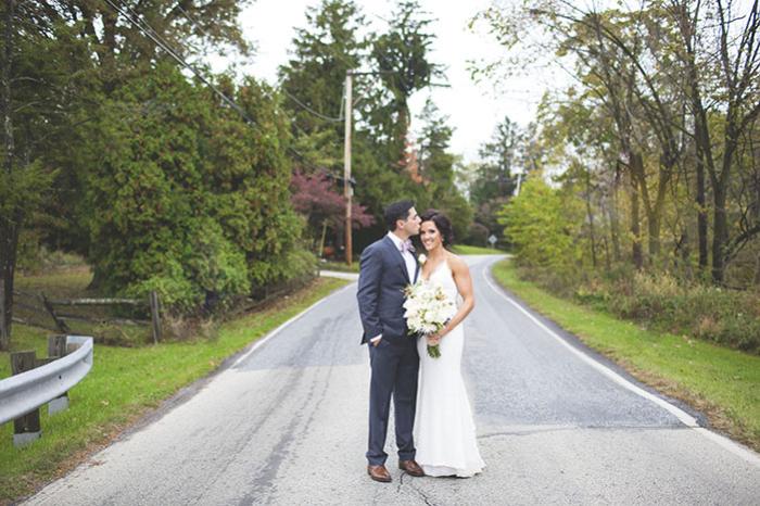 Đám cưới thân mật ở nhà hàng Pennsylvania Inn của Sarah và Richard