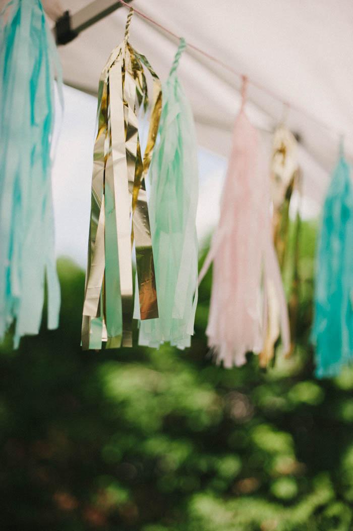 paper tassel garland