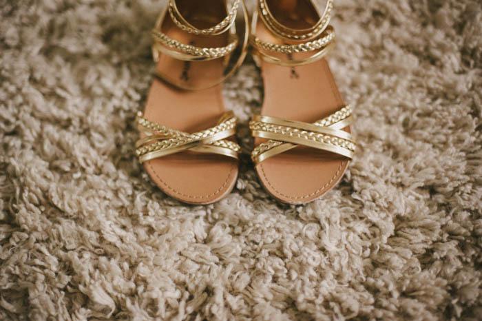 flower girl sandals