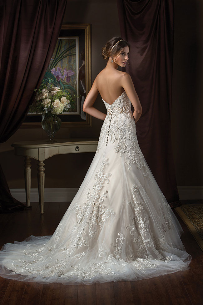 Jasmine Couture wedding Gown