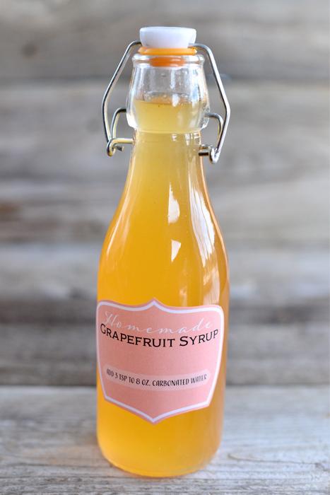 grapefruit soda syrup