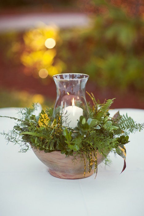 Ways to use greenery in your wedding decor and save money