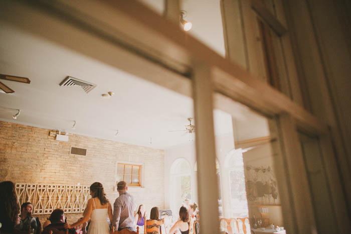 Bayfield wedding reception