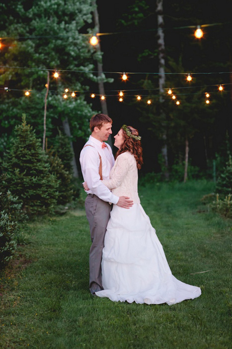 tree farm wedding