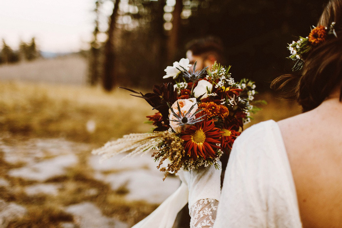 fall weding bouquet