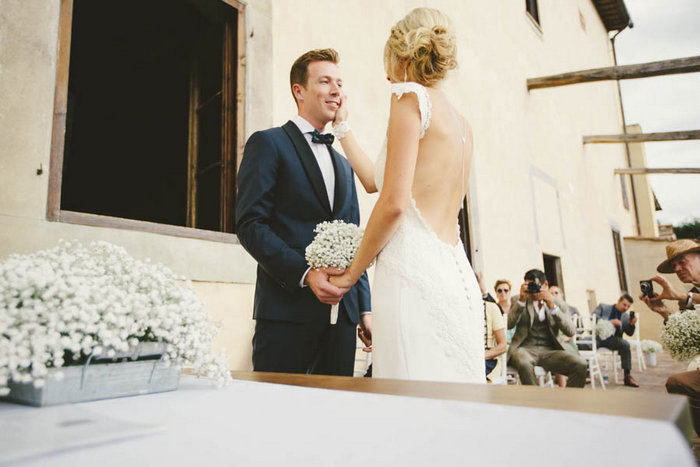 Italian wedding ceremony