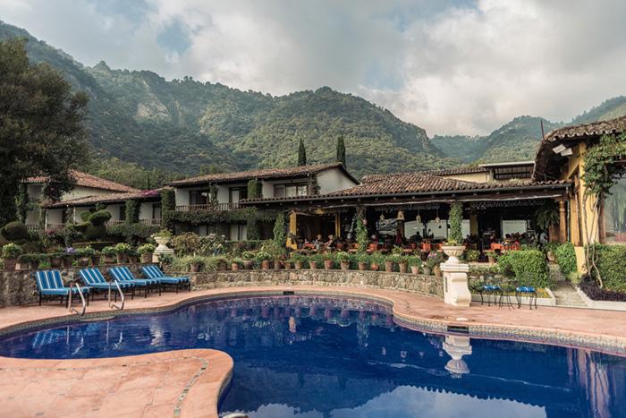 Lake Atitlan Hotel pool