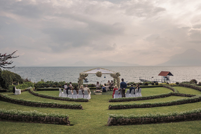 Lake Atitlan wedding ceremony
