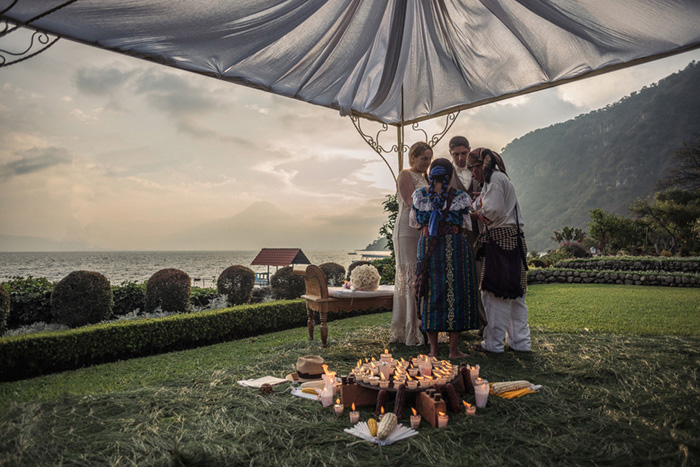 Guatemalan wedding ceremony