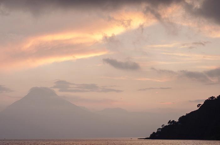 Guatemalan sunset