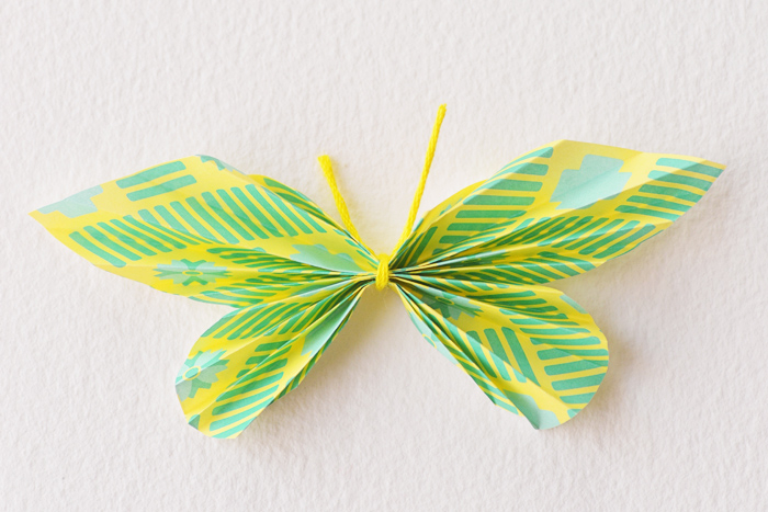 diy butterfly name cards