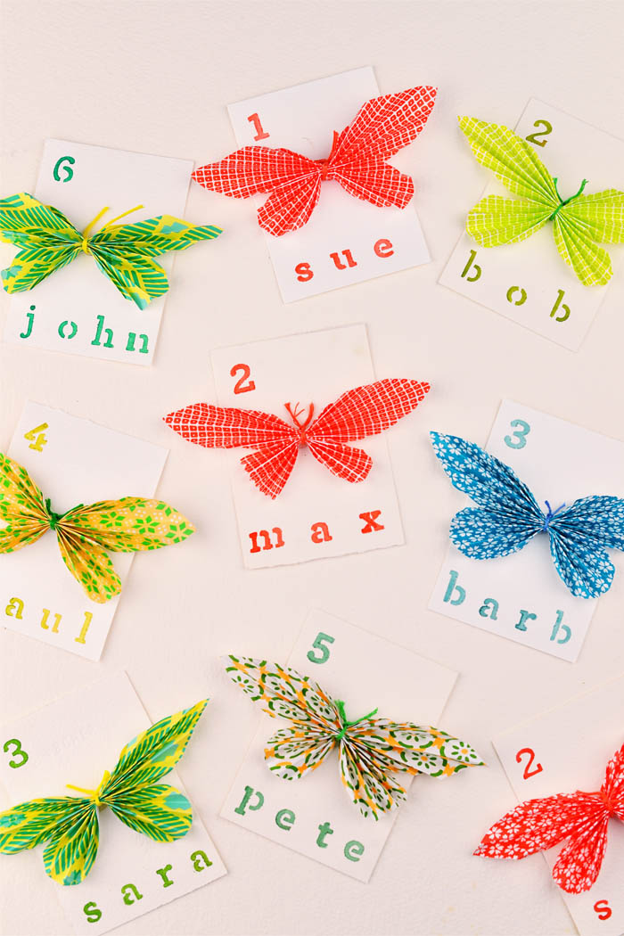 diy name cards