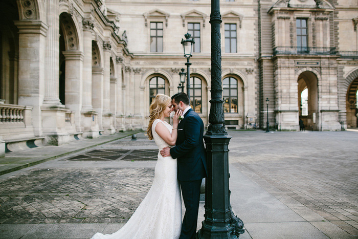 intimate Paris elopement