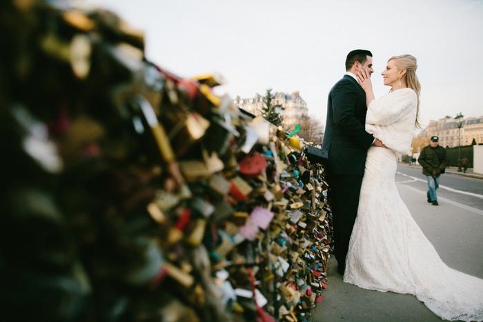 wedding portrait by locks of love