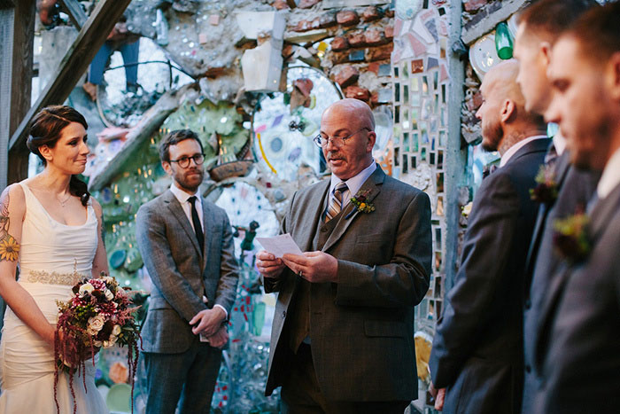 magic gardens wedding ceremony