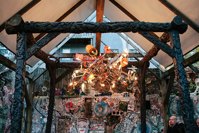 Magic Gardens chandelier