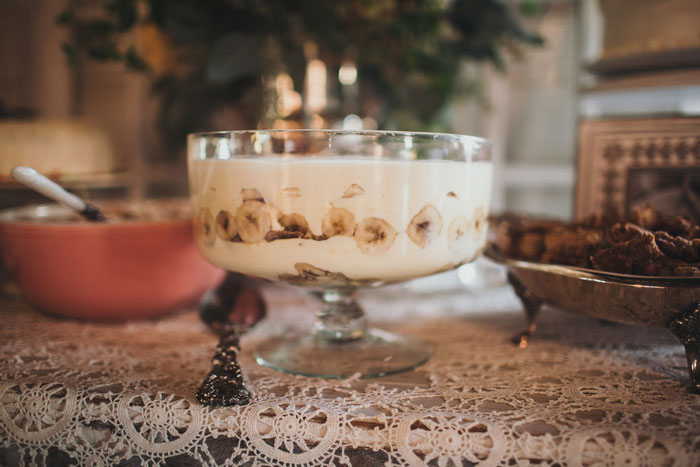 wedding banana pudding