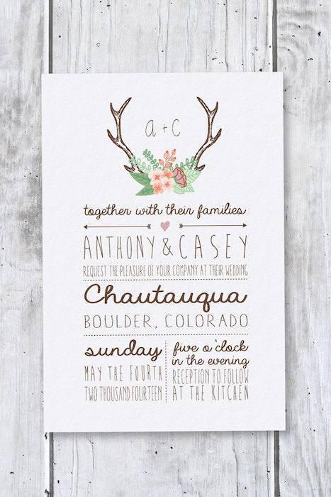 www.etsy.com:uk:listing:165472554:rustic-wedding-invitation-floral-antlers?ref=related-1