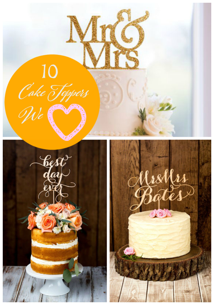 cake toppers we love