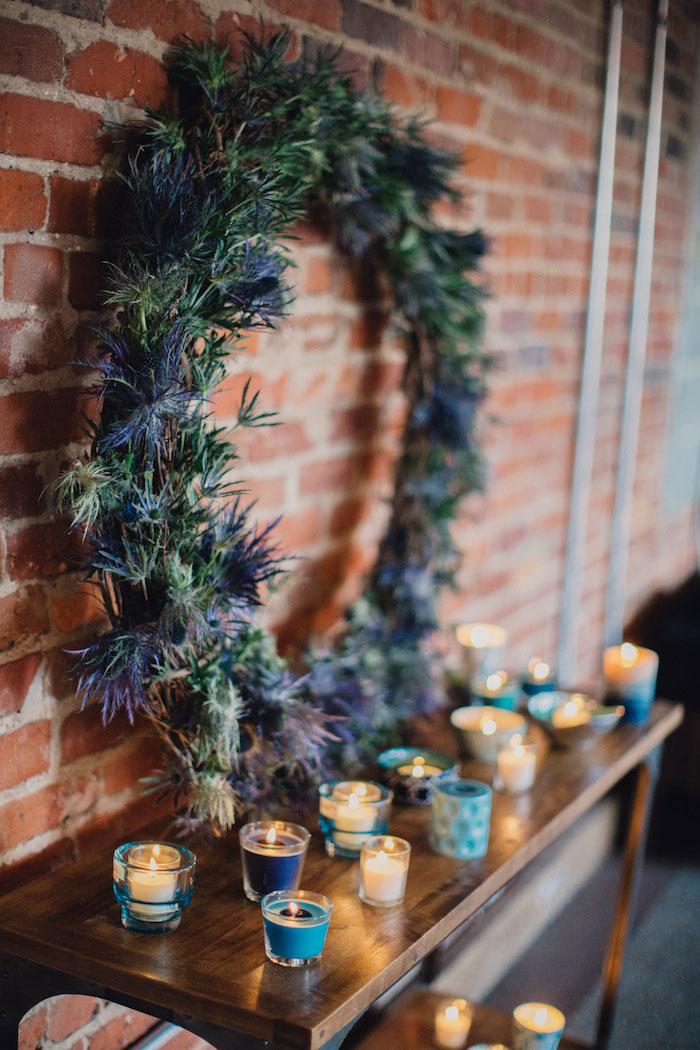 thistle wreath