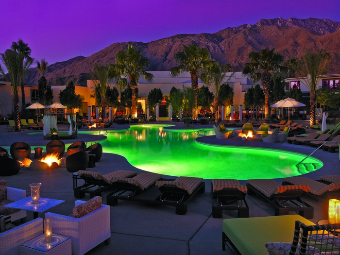Evening At Riviera Palm Springs
