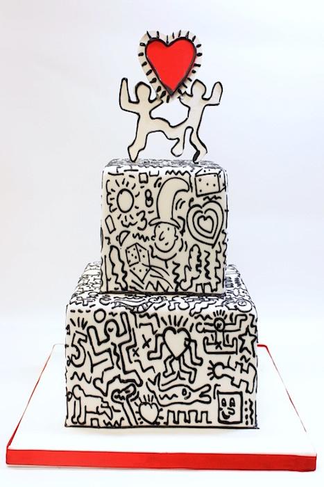 graffit cake