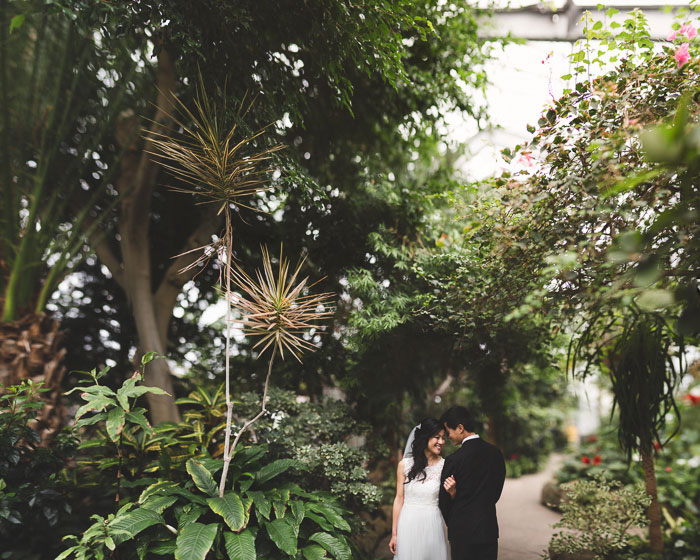 greenhouse garden wedding